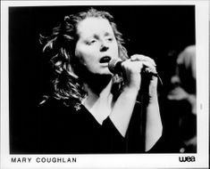 Mary Coughlan performs on stage.