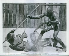 Still from the film Spartacus, 1962.
