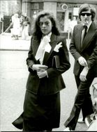 Bianca Jagger on Paul Gettys funeral