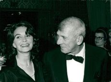 Jean Simmons and Richard Brooks
