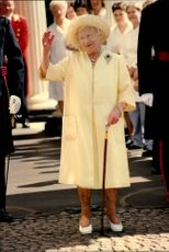 Queen Elizabeth wakes to the views during the celebration of her 98th birthday.