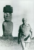 Thor Heyerdahl in the World of Science program special