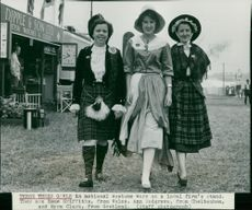 Royal Norfolk Show: Esme Griffiths, Ann Redgrave and  Myra Clark