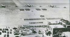 U.S. Airmen Honored for Nauru and Tarawa Raids More than three hundred officers and men of the U.S. Army Air Forces receive special decorations at a joint Army and Navy ceremony.