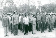 Vietnam: Defense. conscripts