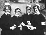 From left Eva Lindsten, Lisbeth Carlsson Margareta Lind and Lena Mogren.