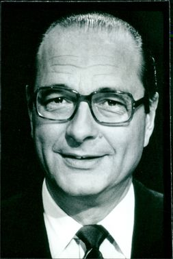 Jacques Chirac, Leader of the French R.P.R. party