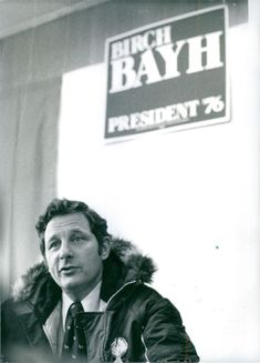 Birch Evans Bayh, communicating.