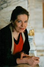 Actress and director Gunnel Lindblom.