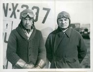 Out for new endurance record Levine and Stultz.