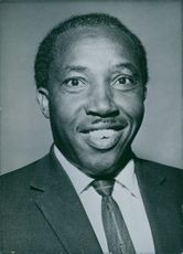 Eliud Ngala Mwendwa, Kenya Politician, Minister of Labour and Social Services in the Kenya Government formed in June 1963.