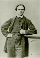 August Strindberg as a 16-17-year-old in the mid-1860s