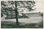 Postcard of Samre School in Ulricehamn.