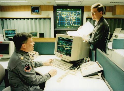 Space Surveillance Center Cheyenne Mountain, US Space Command, NORAD North American Aerospace Defense Command