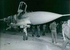 Syrian pilot defects with MiG-23, 1989.