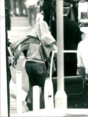 The man blanketed who was remanded in custody.