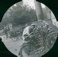 Uppsala Student Home & Students: The Bicycle