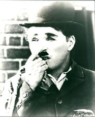 Legendary British actor Charlie Chaplin