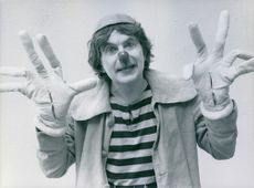 Staffan Gunnar Westerberg, as a clown.