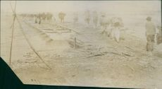 The Imperial Japanese Army get over at the Red River, 1904.