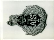 Here is the Cap badge as worn by the Queen as Commandant-in -Chief of the A.T.S.