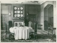 The dining room at Ulriksdal Castle