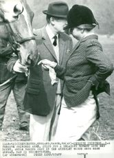 Princess Anne at the Amberley horse show