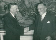 Georges Bidault and Henri Queuille