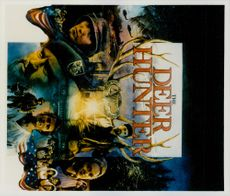 """The poster of the film """"The Deer Hunter""""."""