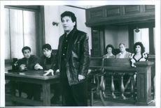 """A scene from the film """"My Cousin Vinny"""" casting by Joe Pesci."""