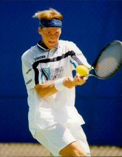 Christian Ruud (Norway) plays in Australian OpenNathalie Tauzia