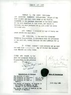 The document in which Lord Alec Douglas-Home deserted his perversity (as the 14th earl of Home)