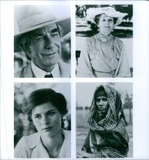 """Scenes from the film """"Out of Africa"""" 1985"""