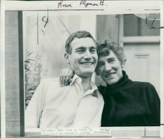 Arthur Wilbraham with his Mother.