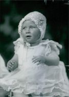 Princess Margaret, photographed in June 1931, when she was ten months old.