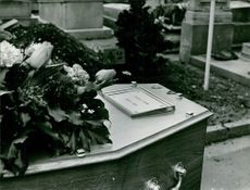 Georges Figon's burial He was a French freelance barbouze (secret agent)