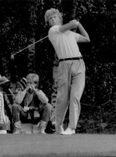Golf player Ulf Nilsson