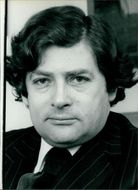 Portrait of Nigel Lawson.