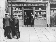 A Chinese store in Pennyfields in London during the 20th century - Year 1920