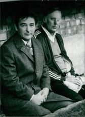 Brian Howard Clough and Peter John Taylor sitting together, 1978.
