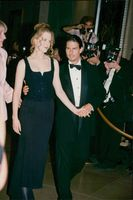 "Tom Cruise och Nicole Kidman fotograferade tillsammans på gala uppsatt för att hylla producenten Rob Reiner, ""The moving Picture Ball of Los Angeles""."