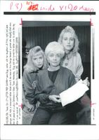 USA Texas Massacre: Jane Bugg and daughters.