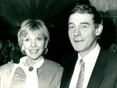 Michael Jayston and a woman.
