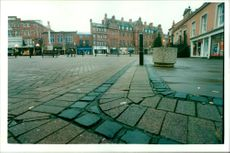 The paving in carlile city centre as '.sterile'