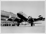 Lufthansa flew Berlin-New York's non-stop for the first time with a Focke-Wulf FW 200 D-ACON. - 10 August 1938