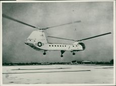 THE NEW VERSION OF THE YH-16A TURBINE-POWERED TRANSPORT HELICOPTER
