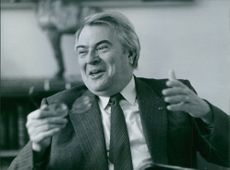 Photograph of Pierre Mauroy. French Politician(1928-2013)