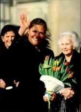 Crown Princess Victoria is celebrated on his name's day