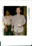 Nigel Richard Gatward was escorted by Philippine customs police.