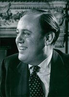 Close up of Christopher Soames.